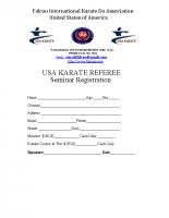 Referee Seminar 2019